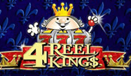 Игровой автомат 4 Reel Kings: 20 барабанов для королей игры в казино Вулкане